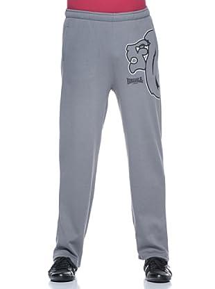 Lonsdale Pantalón Regular Fit Jogging (Gris)