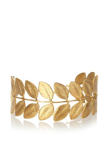 Eddera Gold Leaf Cuff