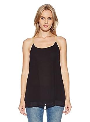 LTB Jeans Camiseta Fluon Camiseta (Negro)