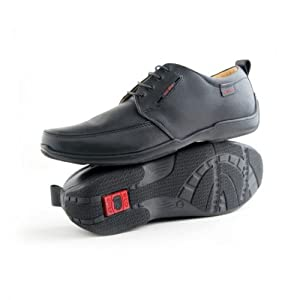 Red Chief Black Casual Shoes