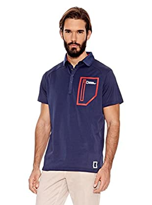 National Geographic Polo Nuji (Azul)