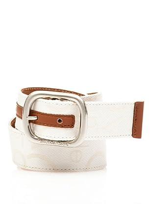 Calvin Klein Jeans Cinturón Cw22Bh (Blanco)