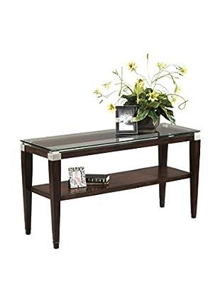 Bassett Mirror Company Dunhill Console Table, Cappuccino