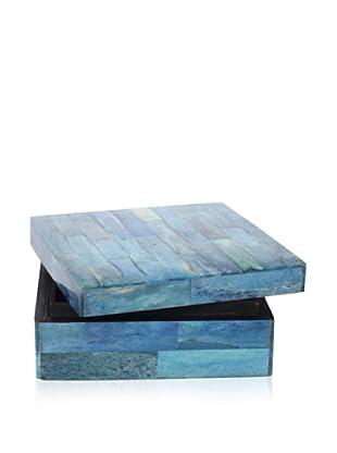 Purva Ocean Blue Bone Box