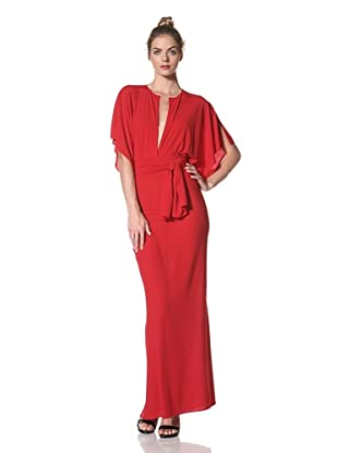 Norma Kamali Women's Obie Gown (Red)