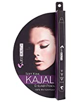 Swiss Beauty Foam Kajal (Black)