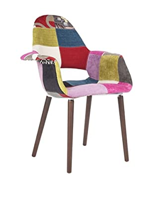Stilnovo The Organic Chair Color: Patchwork, Patchwork/Wood