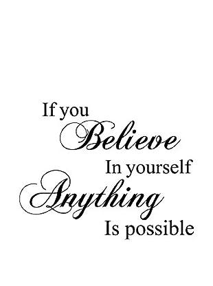 Ambiance Sticker Wandtattoo Believe In Yourself