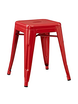 Modway Promenade Stool, Red