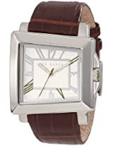 Ted Baker Men's TE1073 About Time Custom Asymetrical Analog Case Watch
