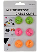 Vismiintrend BI110 Cable Organizer Clips (Pack of 6)