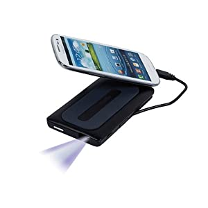 Monoprice 109990 Mobile Media Display Pico Projector and Battery Backup