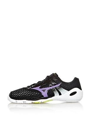 Mizuno Sneakers Minimalistas Wave EVO Levitas (Nero/Viola/Bianco)