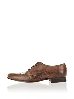 Buffalo London ES 17001 VULCANO 125347 - Zapatos clásicos de cuero para mujer (Beige)