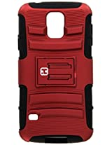 iHome Tough-Protective Case for Samsung Galaxy S5 - Retail Packaging - Red