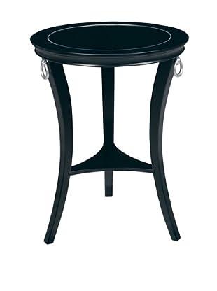 Artistic Orbis Accent Table, Ebony