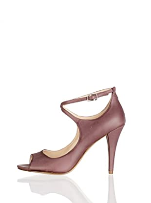 Rockport Zapatos Peep Toe Presia (Marrón)