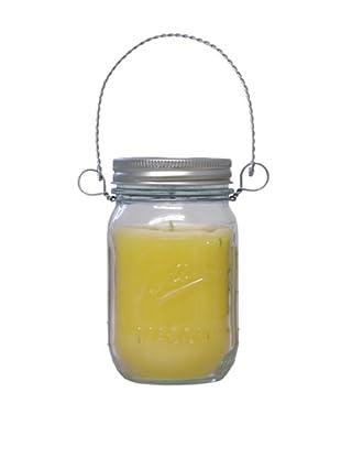 Northern Lights 12-Oz. Warm Citronella Mason Jar Candle