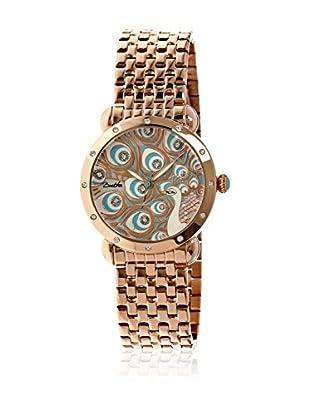 Bertha Uhr mit Japanischem Quarzuhrwerk Genevieve goldfarben 41 mm