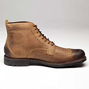 Timberland Men Shoes Boots EK BROGE WNGBT LT BRN 73166