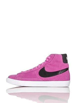 Nike Zapatillas Blazer Mid Vintage (Gs) (Rosa/Negro)