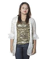 Shopaholic fashion Shantley Long Shrug