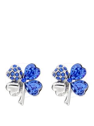 MUSAVENTURA Pendientes Clover Azul Azul