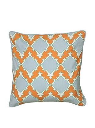 Rizzy Home Orange Amber Throw Pillow