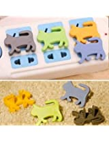 4Pcs New Child Proof Cute Animal Safety Electric Outlet Plug Protector Cover Guard
