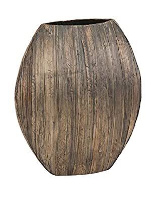 18-Inch Rattan Vase