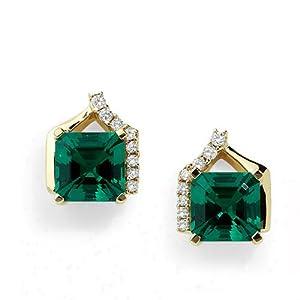 Facetz FSL336 Diamond And Gemstone Earring