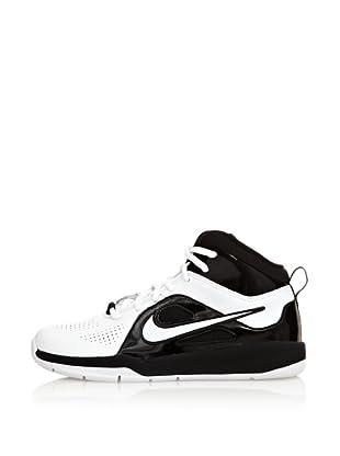 Nike Zapatillas Team Hustle D 6 (Gs) (Blanco / Negro)