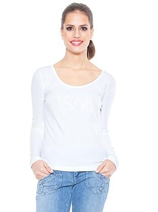 Ungaro Camiseta Print (Blanco)