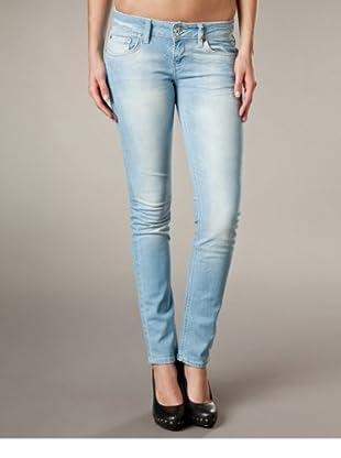 LTB Jeans Aspen Slim Fit Straight Leg Low Rise (Hellblau)