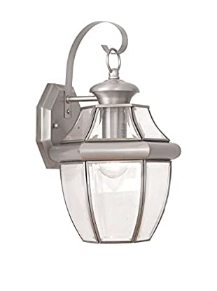 Crestwood Mabel 1-Light Wall Light, Brushed Nickel