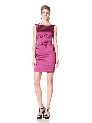 Marc New York Women's Dress with Side Tucks (Purple)