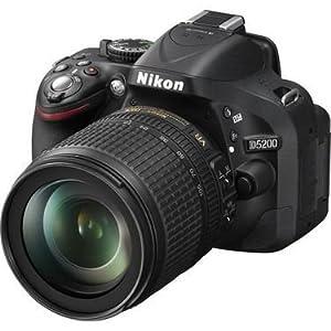 Nikon D5200 DSLR With (AF-S 18-105mm VR Kit Lens) - Black