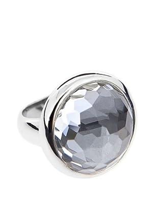 Luxenter Anillo Polepole Hematite Cristal Roca