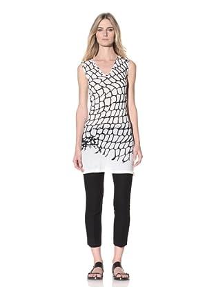 Ann Demeulemeester Women's V-Neck Tunic (Off-White)