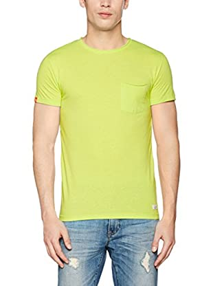Superdry T-Shirt Manica Corta Lofted Cut Sunkist
