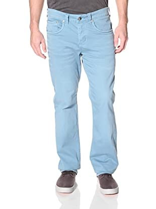Stitch's Men's Texas Straight Leg Twill Pant (Chambray Blue/Chambray)