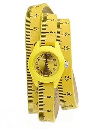 Il mezzometro Uhr mit Miyota Uhrwerk Classic Time gelb 32 mm