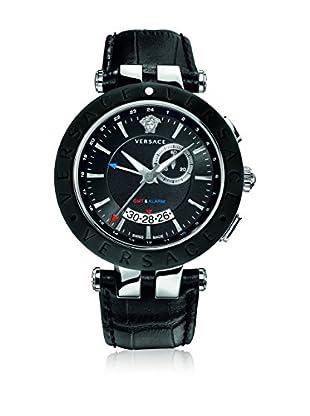 Versace Uhr mit schweizer Quarzuhrwerk Unisex V-Race 46Mm 46 mm
