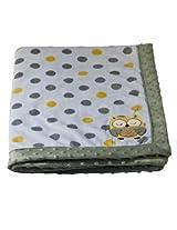 Fine Fur and Velvet Blankets For New Born Babies Mm-98060 Green