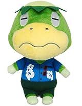"""Sanei Animal Crossing New Leaf Doll Kapp'n/Kappei 8.5"""" Plush"""