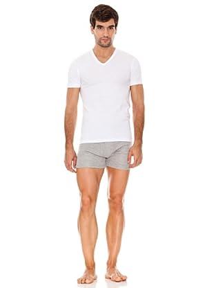 Abanderado Camiseta Manga Corta Jersey Pack6 (Blanco)