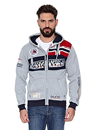 Geographical Norway Sudadera Flyer Men 100 (Gris)