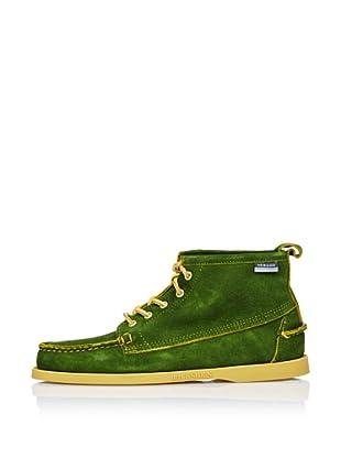 Sebago Zapato Bota Ante (Verde)
