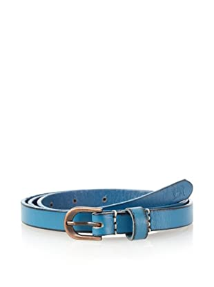 Scotch & Soda Men's Thin Coloured Belt (Cobalt)
