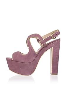 Pour La Victoire Women's Gitta Platform Sandal (Dusty Plum)